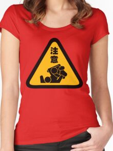 Beware of Jitz (Jiu Jitsu) - Original Women's Fitted Scoop T-Shirt