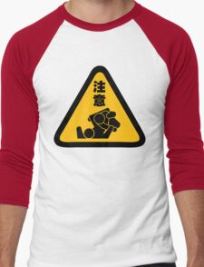 Beware of Jitz (Jiu Jitsu) - Original Men's Baseball ¾ T-Shirt