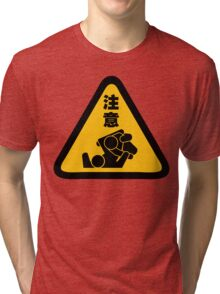 Beware of Jitz (Jiu Jitsu) - Original Tri-blend T-Shirt