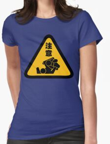 Beware of Jitz (Jiu Jitsu) - Original Womens Fitted T-Shirt