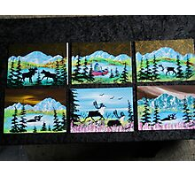 6 ..... 5x7  Original Oil paintings....   Photographic Print
