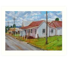 Old Shops – South Johnstone Art Print
