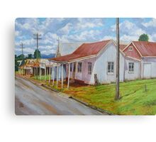 Old Shops – South Johnstone Metal Print