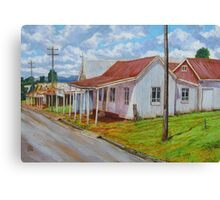 Old Shops – South Johnstone Canvas Print