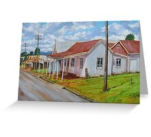 Old Shops – South Johnstone Greeting Card