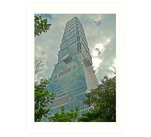 Taipei 101 - Symbolism in Architecture Art Print