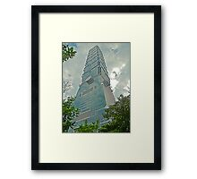 Taipei 101 - Symbolism in Architecture Framed Print