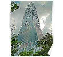 Taipei 101 - Symbolism in Architecture Poster