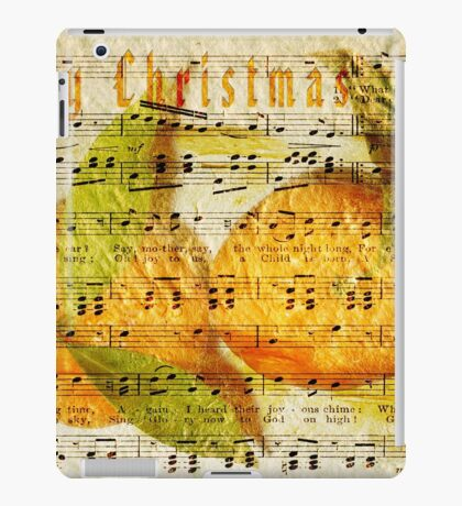 Darling Clementines for Christmas iPad Case/Skin