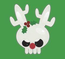 Reindeer of Doom Christmas Greetings Kids Clothes