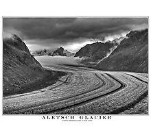 aletsch glacier Photographic Print