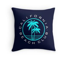 California beach club Throw Pillow