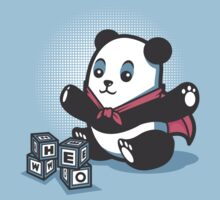 Baby Panda Hero Shirt by siridhata