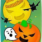 Halloween Happy Haunting  by Jamie Wogan Edwards