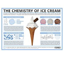 The Chemistry of Ice Cream Photographic Print