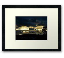 thursday morning  Framed Print