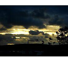 thursday morning  Photographic Print
