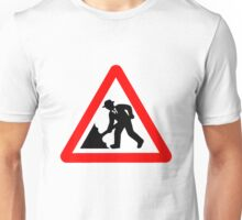Caution! Men Singin' In The Rain!  T-Shirt