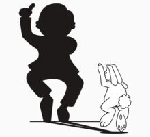 Rabbit Gangnam Style Hand Shadow by mobii