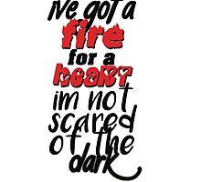 I've Got A Fire For A Heart by natyamity