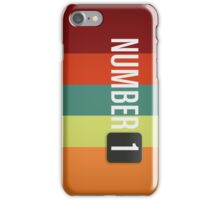 NumberOne Brain - Official iPhone / iPod Case iPhone Case/Skin