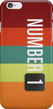 NumberOne Brain - Official iPhone / iPod Case by sebassucho