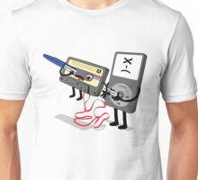 Killer Ipod Clipart (Murder of Retro Cassette Tape ) Unisex T-Shirt