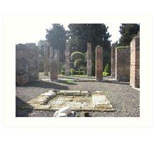 Pompeii Art Print