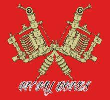 Tattooing's in my bones Kids Tee