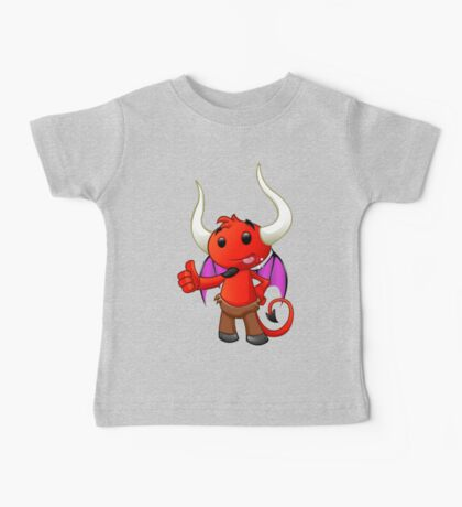 Devil Character - #2 Baby Tee
