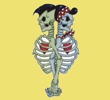 Psychobilly couple Kids Clothes