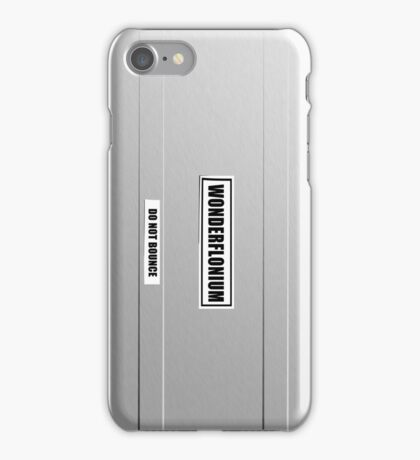 Wonderflonium (DO NOT BOUNCE) iPhone Case/Skin