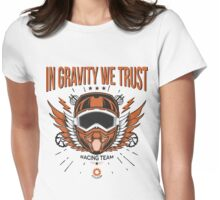 Downhill Gravity Freeride MTB Bike (Racing Edition) Womens Fitted T-Shirt