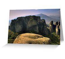 Meteora Greeting Card