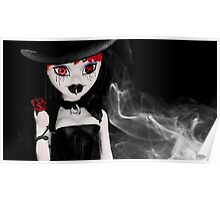18.10.2012: Gothic Figure in Smoke Poster