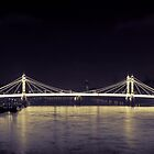Albert Bridge  by Dean Bedding