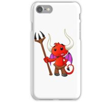 Devil Character - #1 iPhone Case/Skin
