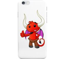 Devil Character - #2 iPhone Case/Skin