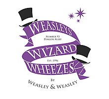 Weasleys' Wizard Wheezes Photographic Print