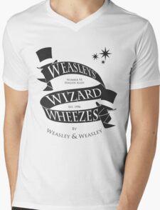 Weasleys' Wizard Wheezes (B&W) Mens V-Neck T-Shirt