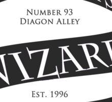 Weasleys' Wizard Wheezes (B&W) Sticker