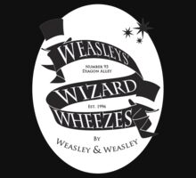 Weasleys' Wizard Wheezes (White BG) by thegadzooks