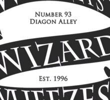 Weasleys' Wizard Wheezes (White BG) Sticker