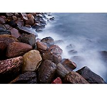 water and stone 1 Photographic Print
