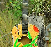 Guitar Mailbox # 2 by Penny Smith