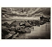 water and stone 3 Photographic Print