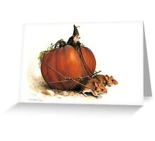 Pumpkin Goblin Greeting Card