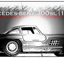 Mercedes-Benz 300SL (1954) by Andrew Robinson