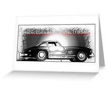 Mercedes-Benz 300SL (1954) Greeting Card