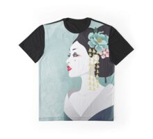 Japanese woman Graphic T-Shirt